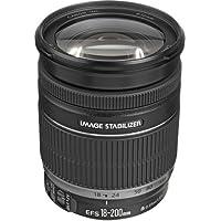 Canon EF-S 18-200mm f/3.5-5.6 IS Standard Zoom Lens for Canon DSLR Cameras International Version (No warranty)
