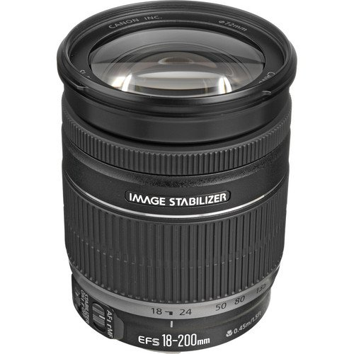 Canon 2752B002-IV EF-S 18-200mm F/3.5-5.6 is Standard Zoom L