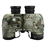 Souliyan 10 X 50 Powerful Binoculars for Adults, Waterproof Compaact Binoculars with Weak Light Night Vision for Outdoor Bird Watching Sporting Events (Color : Camouflage)