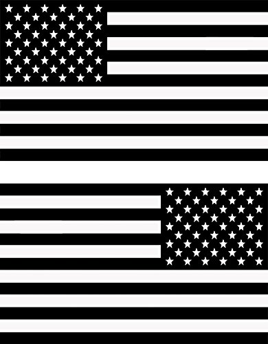 Papapatch Set USA Flag and Reverse American US United States