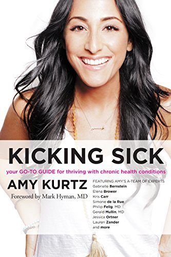 Book Cover: Kicking Sick: Your Go-To Guide for Thriving with Chronic Health Conditions