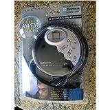 Emerson HD8115BK CD-R/RW Player with 60 Second Anti Skip and AM/FM Radio