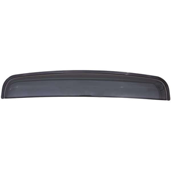 Auto Ventshade 77001 Windflector Classic Universal Sun Roof Wind Deflector fits up to 33 Wide Sunroof