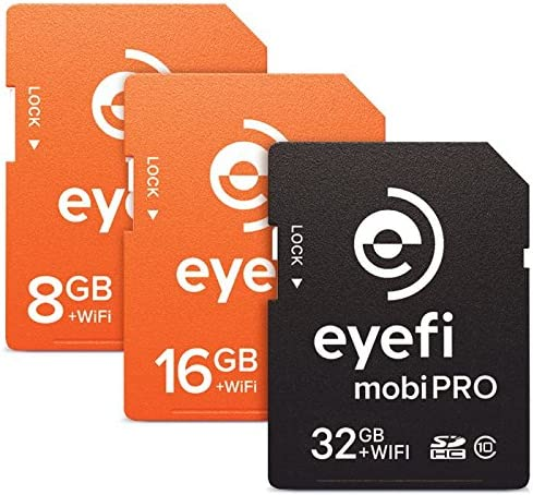 Amazon.com: Eyefi mobiProZ-32 Mobi Pro 32GB WiFi SDHC CARD ...