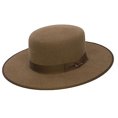 34315fc4d1f Stetson Austral - (4X) Buffalo Felt Cowboy Hat at Amazon Men s ...