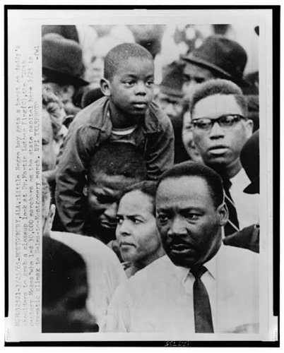 Infinite Photographs Photo: 1965 MLK Selma-Montgomery Rights March, Alabama Size: 8x10 (Approximately)