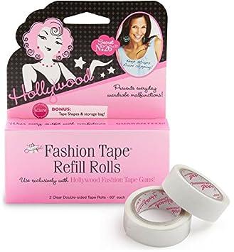 8c70b70b2c2ed Amazon.com   Hollywood Fashion Secrets 2 Piece Fashion Tape Gun Refill    Beauty Products   Beauty