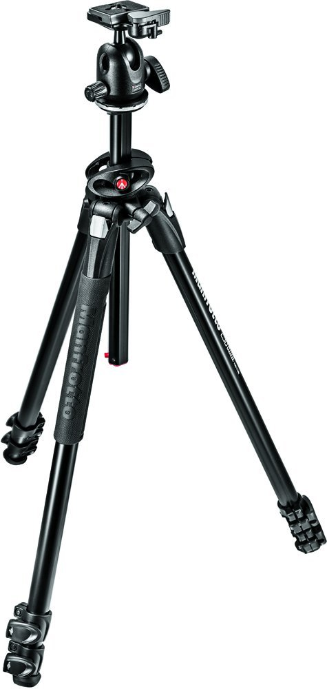 Manfrotto MK290DUA3-BHUS 290 Dual Aluminum Tripod with Ball.