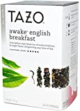 Black Tea-Awake English Breakfast Tazo Teas 20 Bag