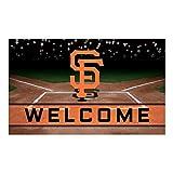 FANMATS 21932 Team Color Crumb Rubber San Francisco Giants Door Mat, 1 Pack