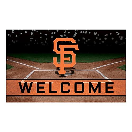 MLB San Francisco Giants Heavy Duty Crumb Rubber Door Mat