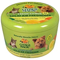 Citrus Magic Pet Olor que absorbe los aromas de aire fresco Citrus fresco, 20 onzas