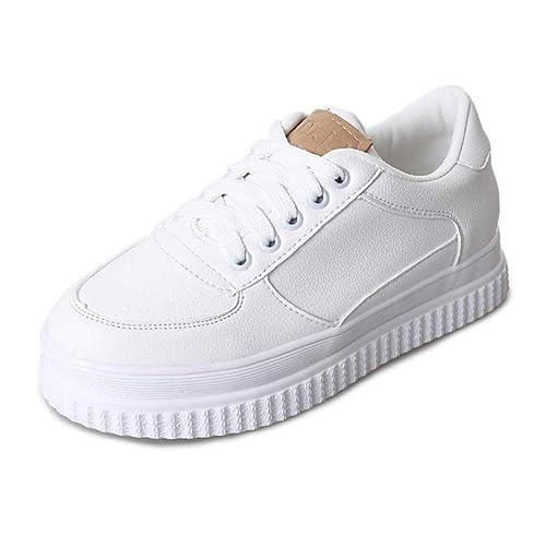 DRENECO Zapatillas de Cordones Casuales para Mujer Zapatos para Caminar: Amazon.es: Zapatos y complementos
