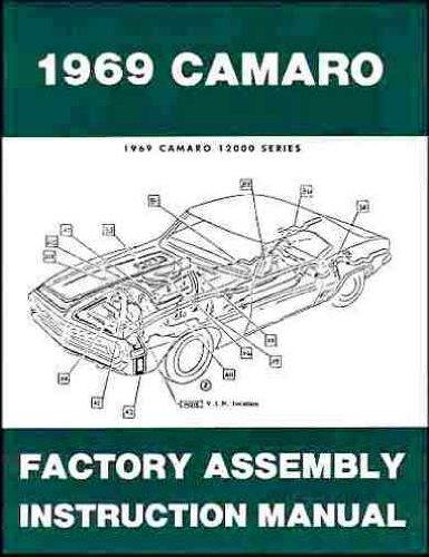 - 1969 Camaro Factory Assembly Instruction Manual