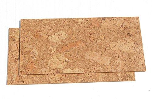 Natural cork flooring - Salami 8mm cork tiles (18sf) White Cork Flooring