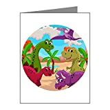 X-Large Greeting Card (10 Pack) Dinosaurs HD