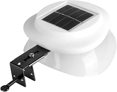 Solar Lights Outdoor Solar Powered Security Wall Lights Wall Mounted Outdoor Solar Power 9 LED Light Garden Yard Path Security Lamp Wireless Waterproof White Warm White