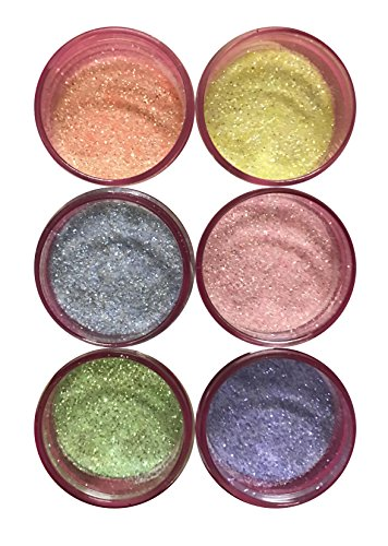 BABY SET Disco Cake (6 colors) 5 grams each container, cakes, cupcakes, fondant, decorating, cake pops By Oh! Sweet Art by Oh! Sweet Art