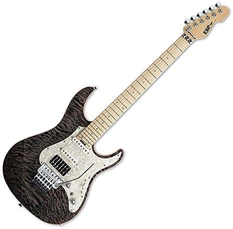 Esp Snapper CTM 24 trastes para guitarra eléctrica en ver a través ...