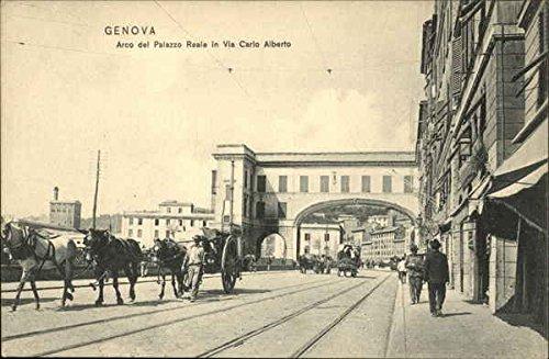 arco-del-palazzo-reale-in-via-carlo-alberto-genoa-italy-original-vintage-postcard