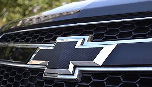 Bwen 2 PCS Black Carbon Fiber Emblem Sticker For Chevrolet Cruze 2009-2014 by Bwen (Image #3)