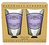 Naturally European – Hand & Foot Cream Set – Lavender For Sale