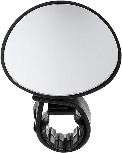 TaoNaisi Espejo de la Bici Universal de 360 ??Grados giratorios del Manillar Espejos retrovisores para Bicicletas de montaña Bicicleta de Carretera - Negro: Amazon.es: Deportes y aire libre