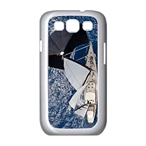 Beautiful Sailboat Rudders Customized Cover Case with Hard Shell Protection for Samsung Galaxy S3 I9300 Case lxa#401484