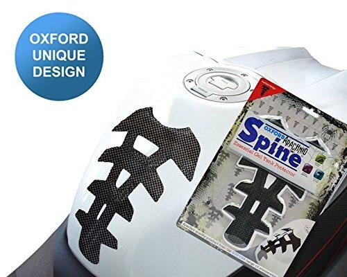 KAWASAKI ER-6N Gel Arachnid Spine Tank Pad Protector Sticker Carbon Wing Mirrors World