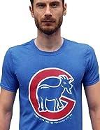 SCOBAR Cubs Logo Parody Curse of the Billy Goat T-Shirt