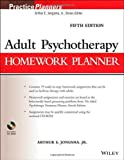 Adult Psychotherapy Homework Planner, Fifth Edition