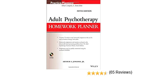 Amazon.com: Adult Psychotherapy Homework Planner (9781118076729 ...