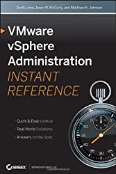VMware vSphere 5 Administration Instant Reference by Kusek, Christopher, Van Noy, Van, Daniel, Andy 2nd (second) Edition (12/6/2011)