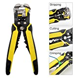 OYISIYI Wire Stripper, 8-Inch Wire Stripping Tool Automatic Cable Stripper Cutter Crimper