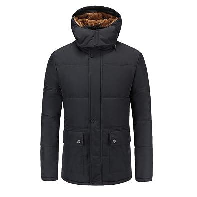 zarupeng Chaqueta de Invierno para Hombre,abrigos hombre invierno largos 2018 cardigans cremalleras de bolsillo chaquetas hombre moto deportivas invierno ...