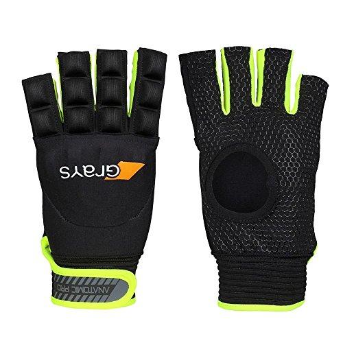 Grays ANATOMIC PRO Left Hand Hockey Glove, Black, L