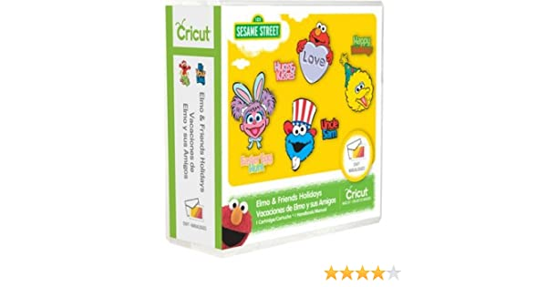 Elmo & Friends Holiday Cricut Cartridge