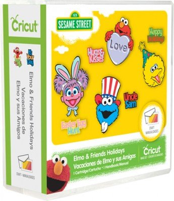 Elmo & Friends Holiday Cricut