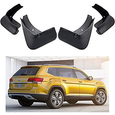 MOERTIFEI Car Mudguard Fender Mud Flaps Splash Guards Kit fit for 2020 2020 VW Atlas/VW Atlas R-Line: Automotive