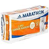 Marathon 1/8 Fold Embossed Dinner Napkins, 1200 Count