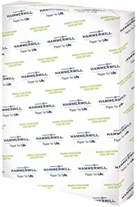 Hammermill Premium Color Copy Cover 80lb Cardstock, 18 x 12, 1 Pack, 250 Sheets, Made in USA, Sourced From American Family Tree Farms, 100 Bright, Acid Free, Heavy-weight Printer Paper, 133200R