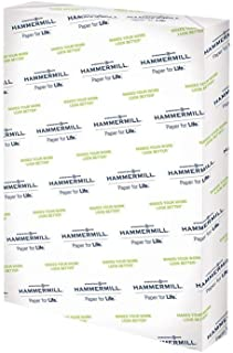 product image for Hammermill Cardstock, 80 lb, 216 GSM, Premium Color Copy, 18 x 12-1 Pack (250 Sheets) - 100 Bright, Made In The USA Card Stock