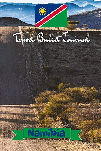 Price comparison product image Travel Bullet Journal Namibia: Turn your adventures into a life-long memory with this notebook planner and organzier.