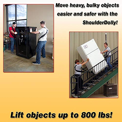Efficiently and Secure Furniture Lifting Strap for 2 Movers Appliances More Easily Like The Pros Heavy Lift Essential Moving Supplies Move Bulky Objects Safely Shoulder Moving Straps Carry