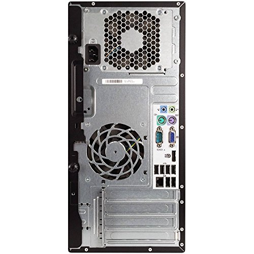 HP Elite 8300 Tower Flagship Business Desktop Computer (Intel Quad-Core i7-3770 up to 3.9GHz, 8GB RAM, 2TB HDD+ 240GB SSD, DVD, WiFi, VGA, DisplayPort, Windows 10 Professional) (Certified Refurbished)