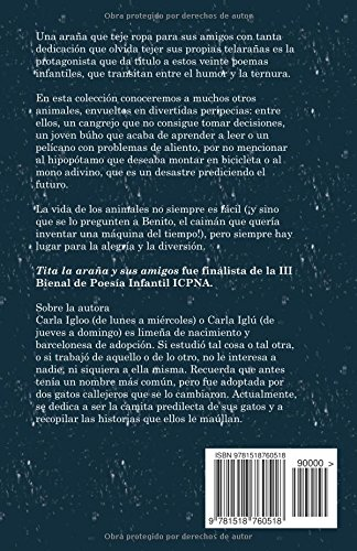 Tita la araña y sus amigos (Spanish Edition): Carla Iglú, Natalia Vasquez: 9781518760518: Amazon.com: Books
