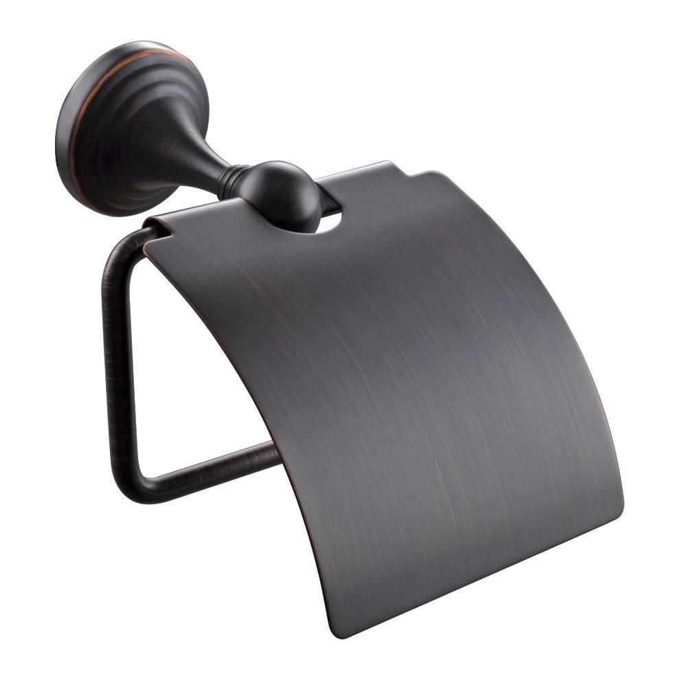 KESバスルームステンレス鋼タオルバー従来Bathオーガナイザーハンガー壁マウント、つや消しニッケル、a34-p Toilet Paper Holder 5850279 B0177BLDNC Toilet Paper Holder オイルステイン仕上げブロンズ オイルステイン仕上げブロンズ Toilet Paper Holder