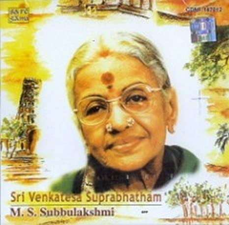 Sri venkatesa suprabhatam ms subbulakshmi online dating