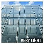 BDF HNC70 Window Film Premium Heat Control and Energy Saving, Chrome (Very Light)
