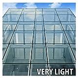 BDF HNC70 Window Film Premium Heat Control and Energy Saving, Chrome (Very Light) - 60in X 25ft